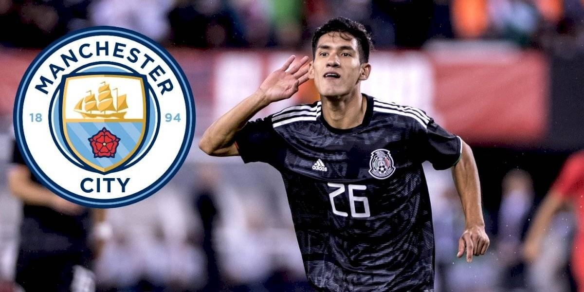 Uriel Antuna renueva con Manchester City hasta 2022