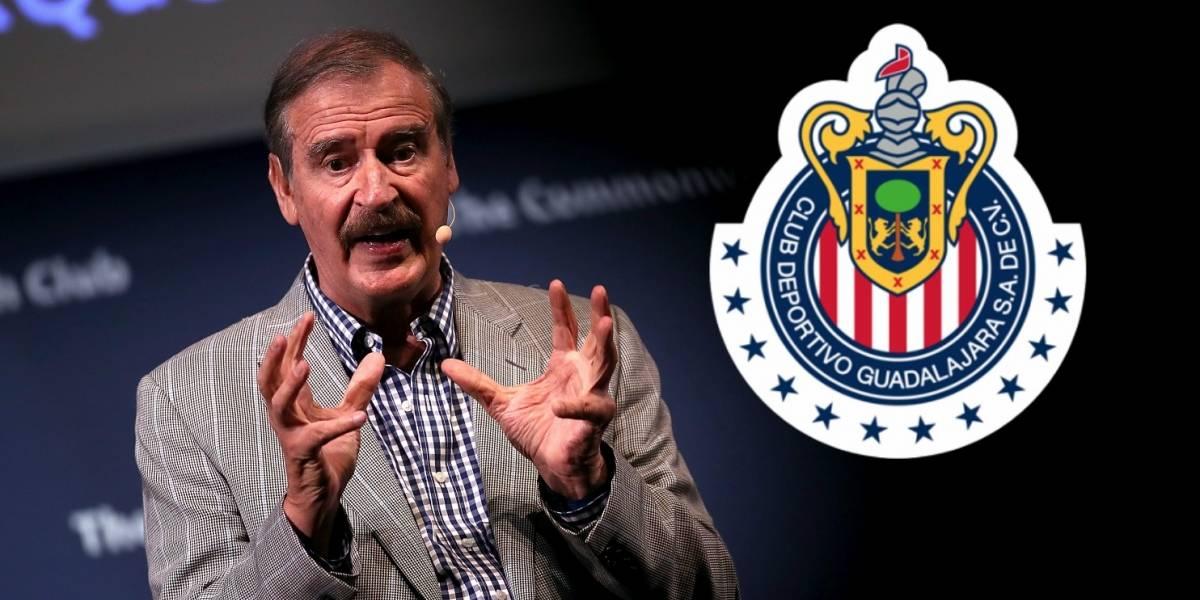 Vicente Fox es nuevo propietario de Chivas