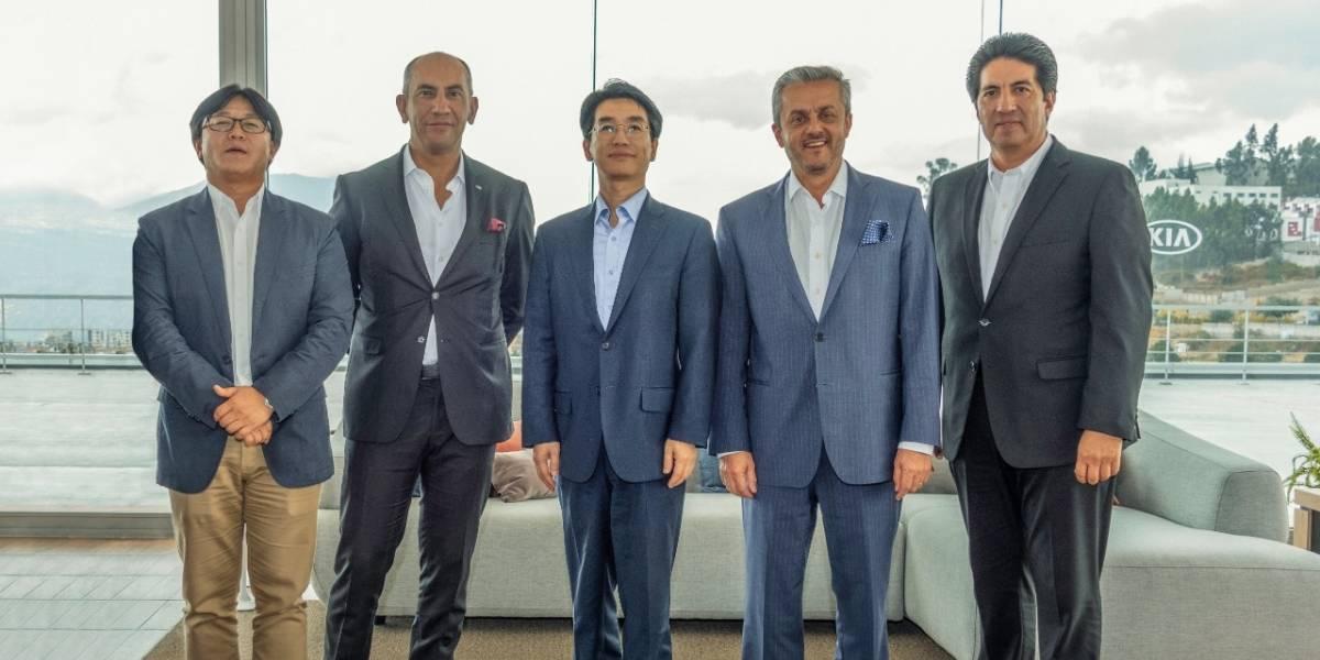 Kia Motors de Ecuador presenta sus logros ante el Presidente Regional