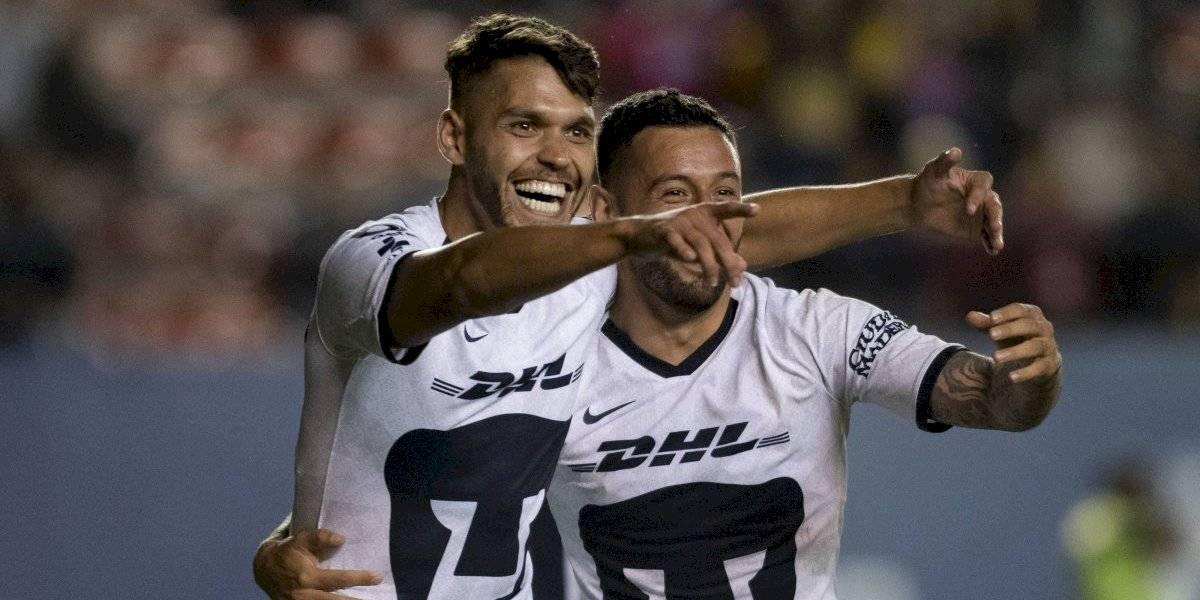 Pumas sorprende y golea al San Luis en Copa MX