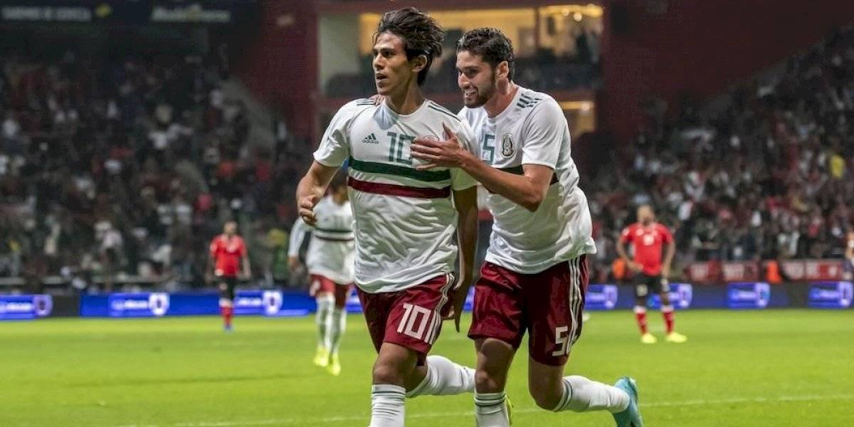 México supera sin apuros a Trinidad y Tobago en Toluca
