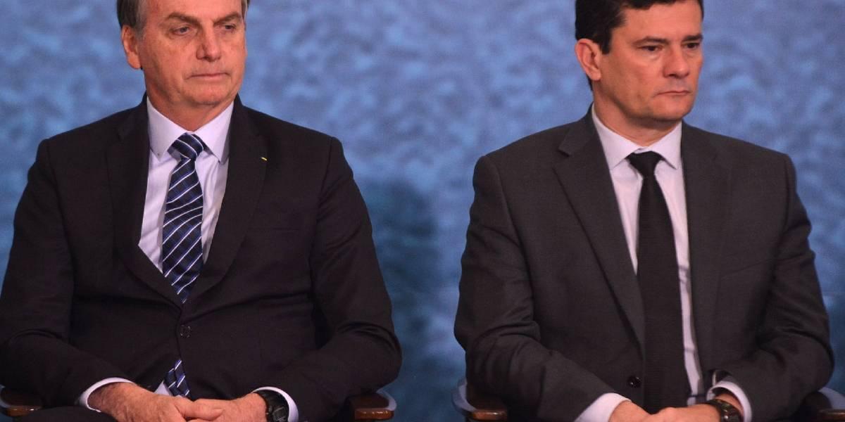 Moro pede demissão do Ministério da Justiça e Bolsonaro tenta reverter