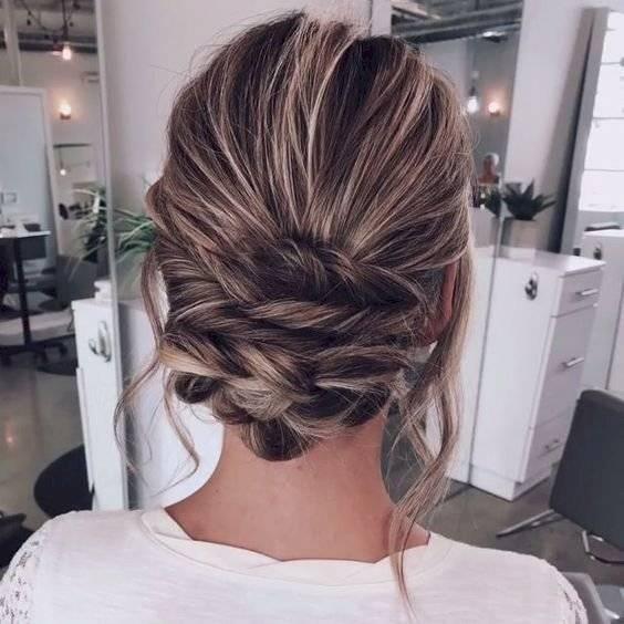 Peinados con el cabello recogido