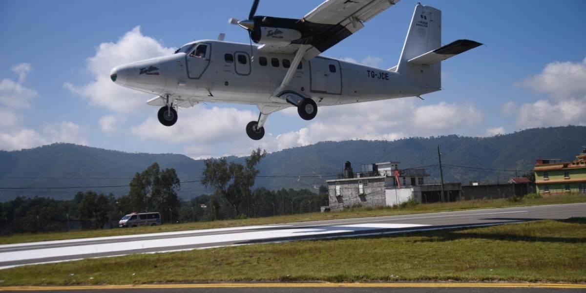 Aeródromo de Huehuetenango: una manera de facilitar conectividad aérea e impulsar el turismo