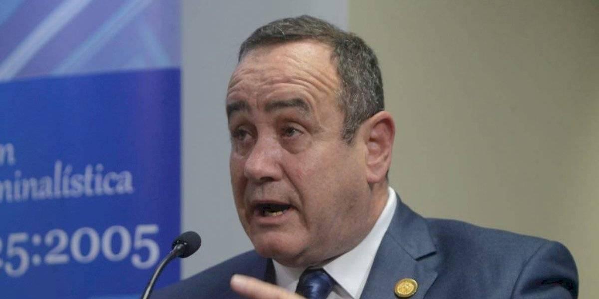 Giammattei exige información a Ministro de Gobernación sobre acuerdo migratorio