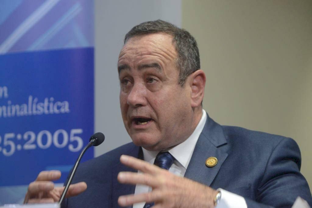 presidente electo Alejandro Giammattei