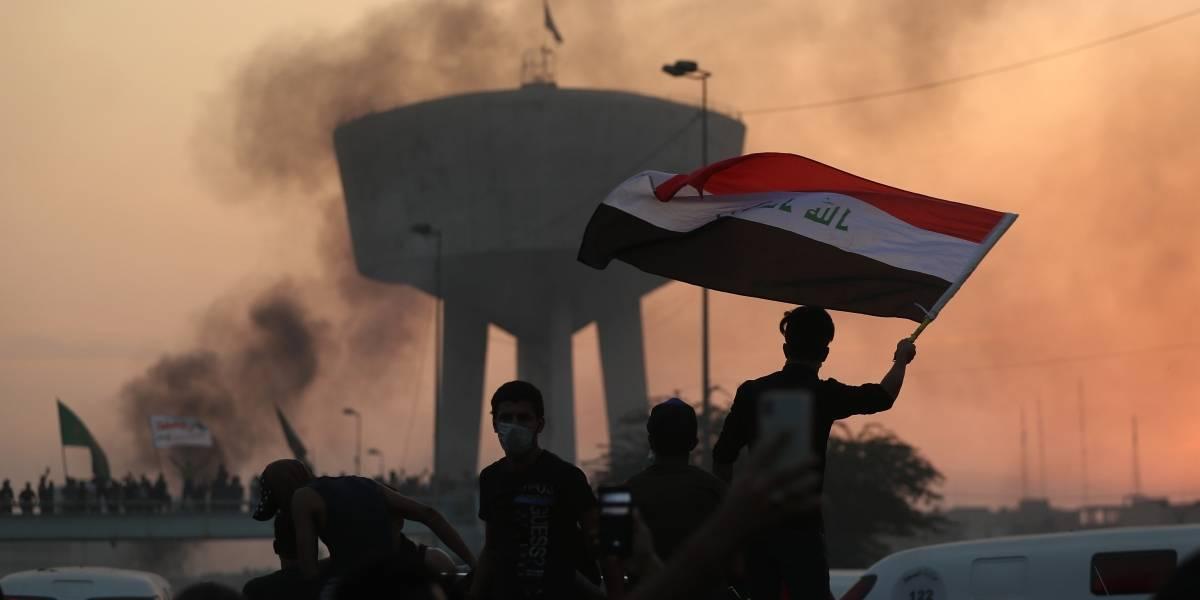Con armas contra los manifestantes: al menos 19 personas muertas sólo en tres días en Irak