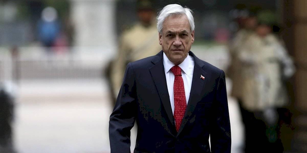 """Presidente de Chile reconoce que el lunes """"será un día difícil"""" y habla de una """"organización criminal"""""""