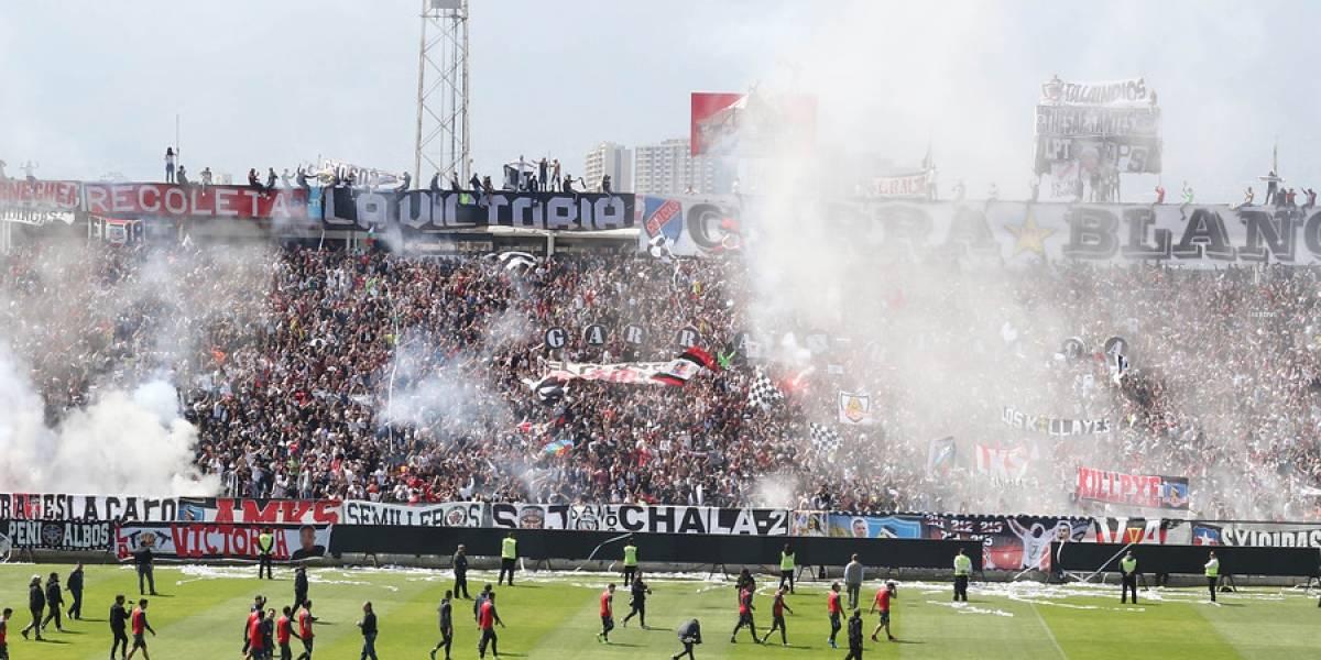 Invasión de hinchas a la cancha frustró el Arengazo de Colo Colo previo al Superclásico con la U