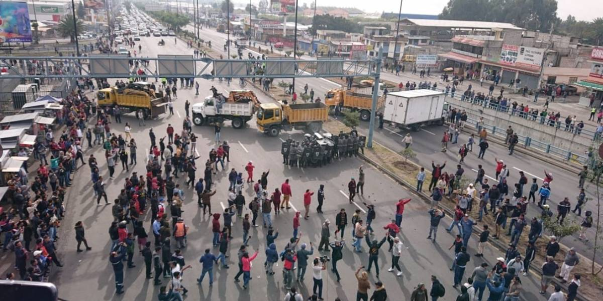 Lo que implica el Estado de Excepción en Ecuador ante el Paro Nacional
