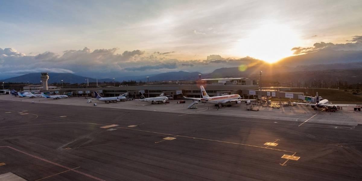 Paro nacional: En el aeropuerto de Quito fueron cancelados cerca de 27 vuelos este 3 de octubre