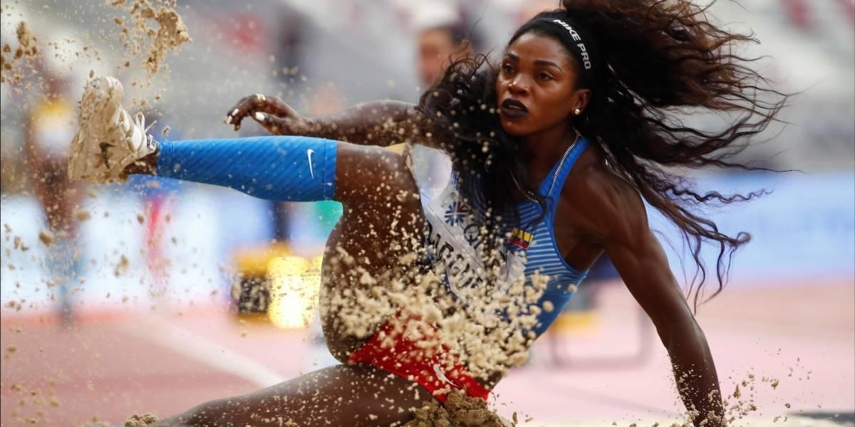 ¡Ella es la Reina! Caterine Ibargüen clasificó a la final de salto triple en el Mundial de Atletismo