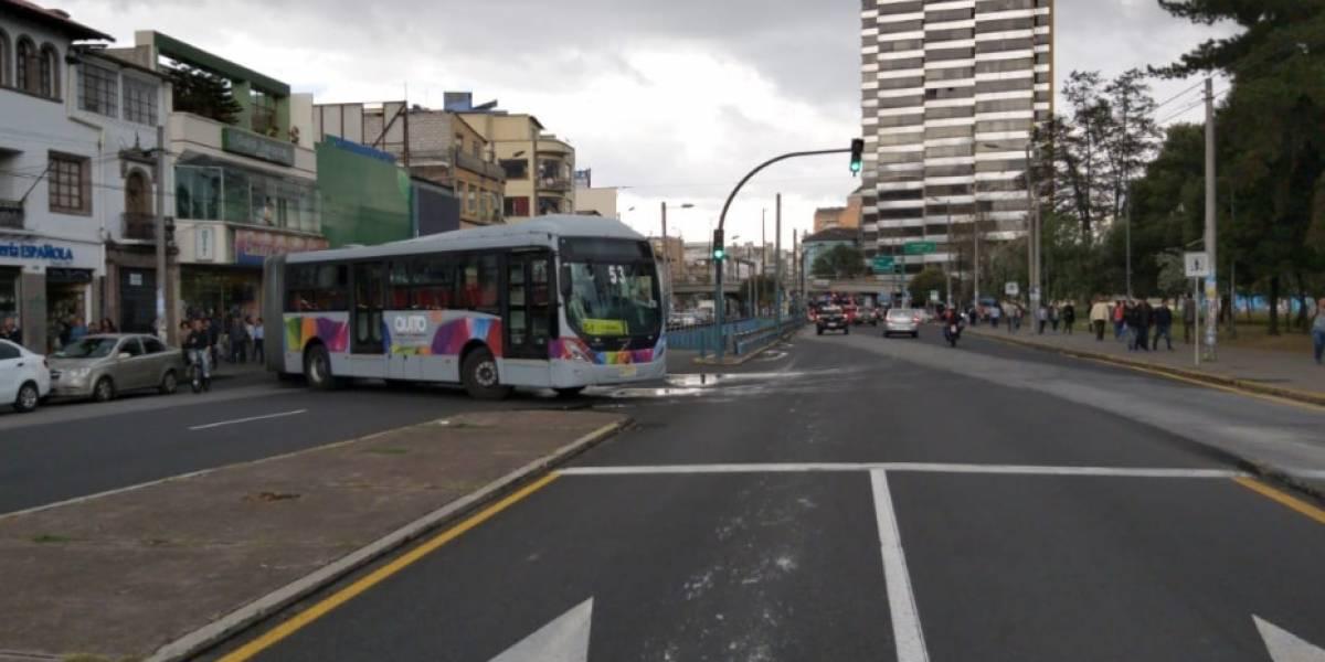 Así están funcionando las paradas del Trolebús y Ecovía en Quito