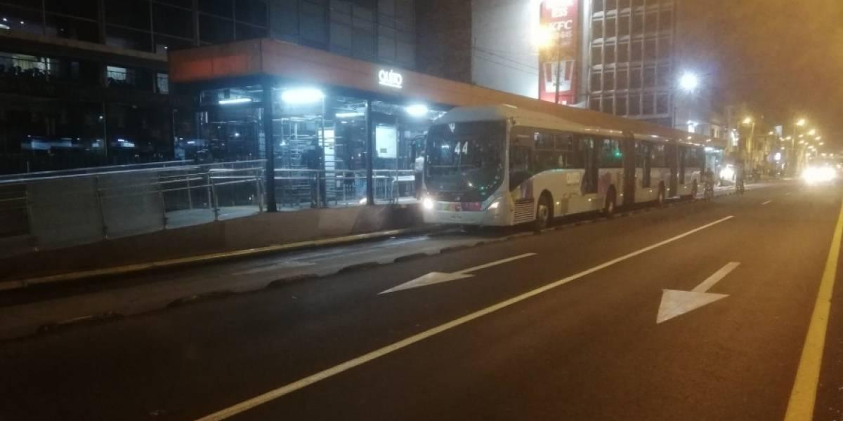 Paro Nacional: Sistema de Transporte Municipal finalizará su operación a las 22:00 este 3 de octubre