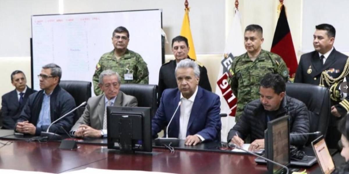 """Lenín Moreno ante el Paro Nacional: """"Las personas que violen la Ley deberán ser detenidas"""""""