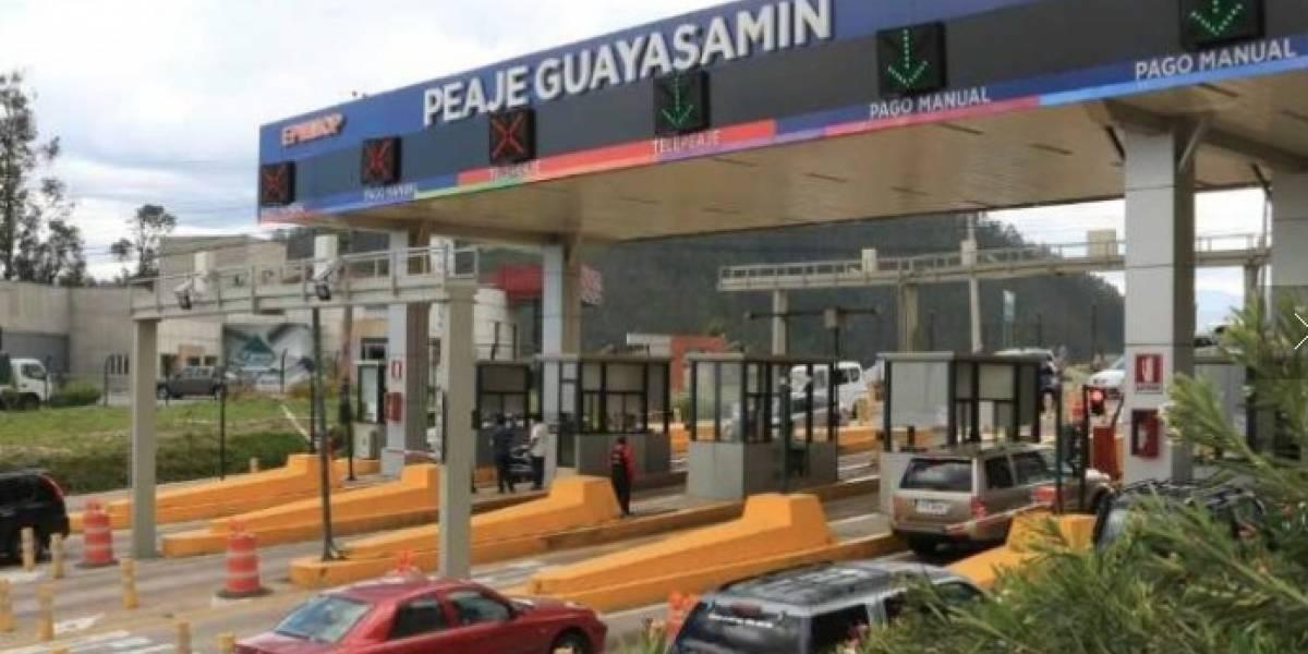 Paro Nacional:  Se habilita el flujo libre en el Peaje Guayasamín este 3 de octubre