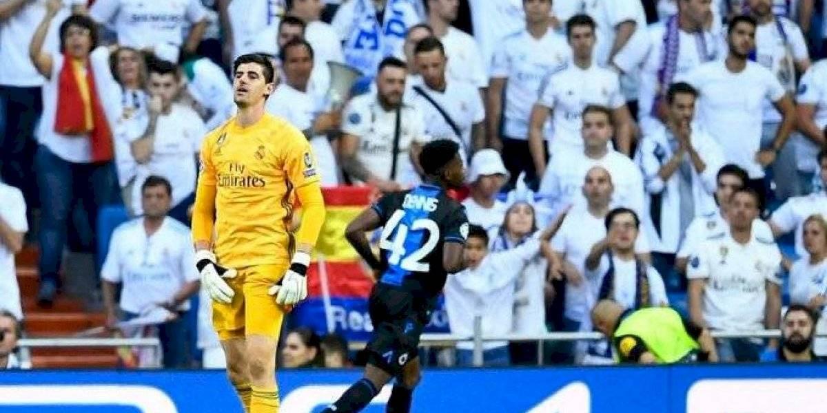 Problemas para Zidane en el arco merengue