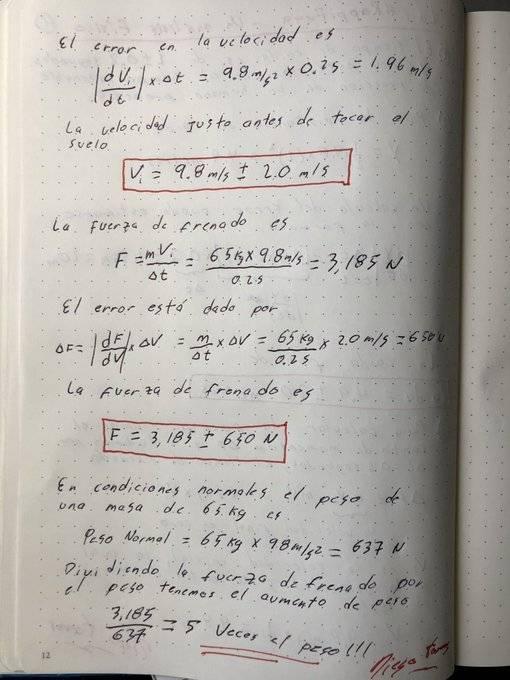 Profesor de física calculó la fuerza del impacto contra el suelo que tuvo Aída Merlano en su fuga