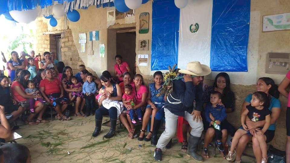 Escuela pública del caserío Terreno Barroso, aldea Tacón Arriba, Chiquimula