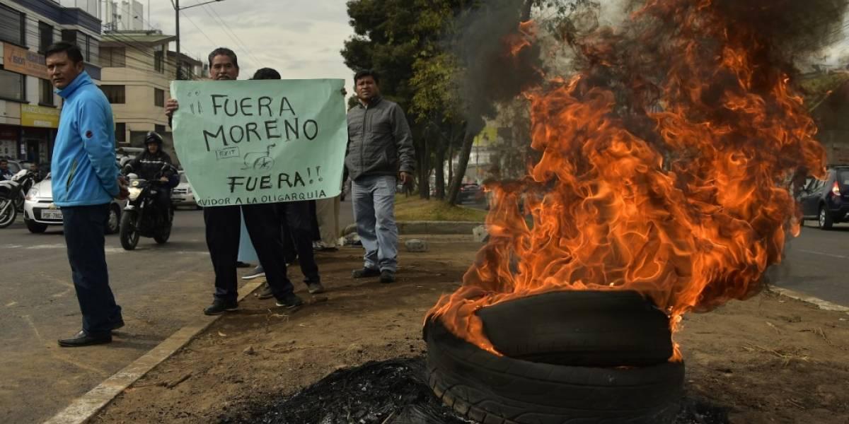 FOTOS. Ecuador, paralizado por protestas contra el alza al precio del combustible