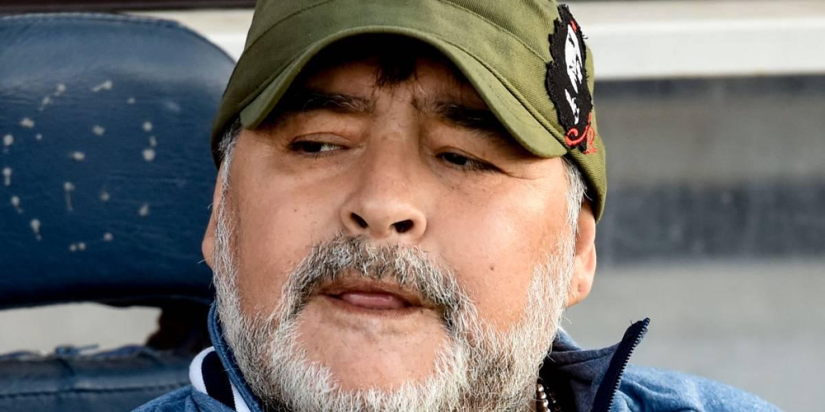 """Diego Maradona en contra del VAR: """"River pudo haber ganado 5-0, pero no era penal"""""""