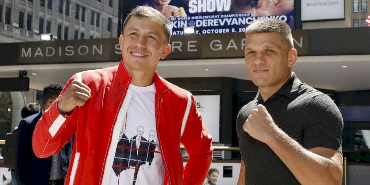 Golovkin acusa al 'Canelo' Álvarez de huir a una tercera pelea con él