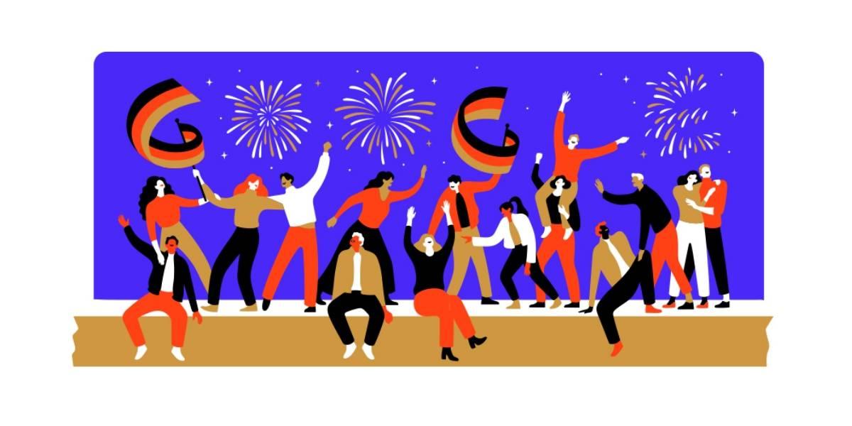 Google celebra el Día de la Unidad Alemana 2019 con un emotivo Doodle