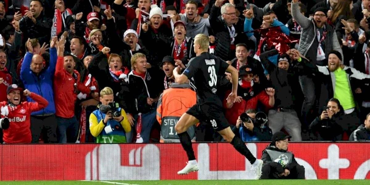 Erling Haland, el delantero sensación que se inspira en Cristiano Ronaldo