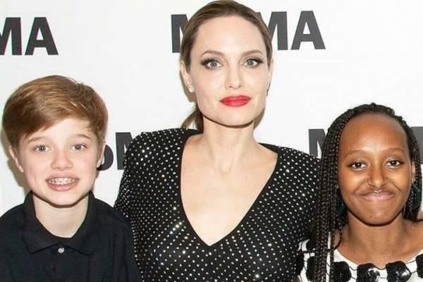 Zahara Jolie Pitt Lucio Un Vestido Con Transparencias Que