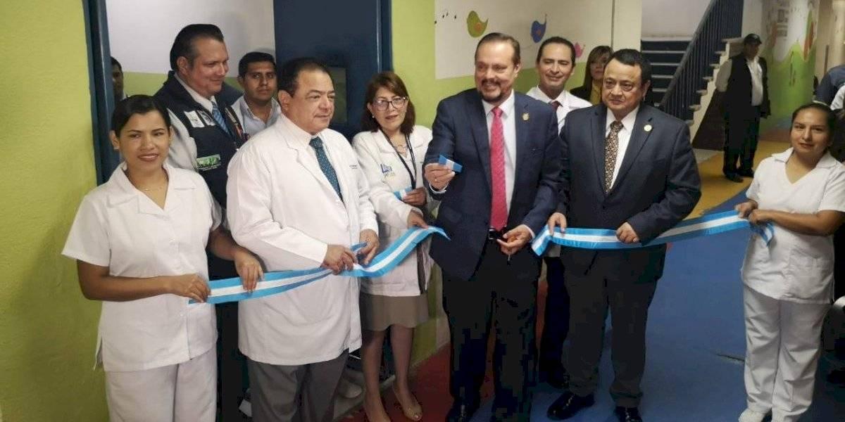 Habilitan elevadores e intensivo pediátrico en hospital general San Juan de Dios