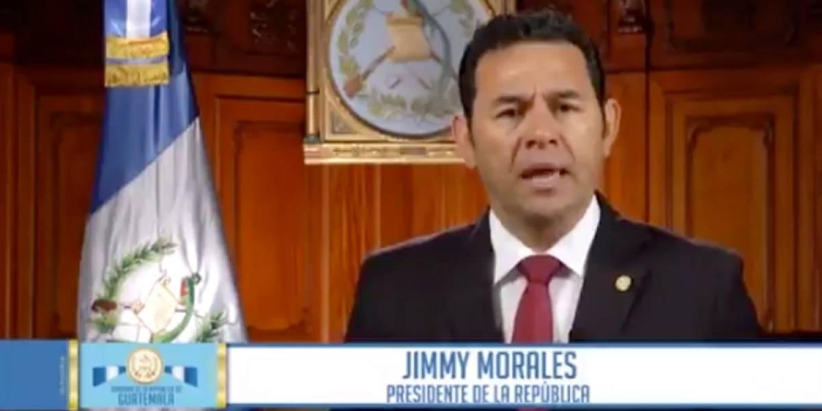 VIDEO. PDH recuerda cuando Jimmy Morales pidió separación del diputado Juan Manuel Giordano