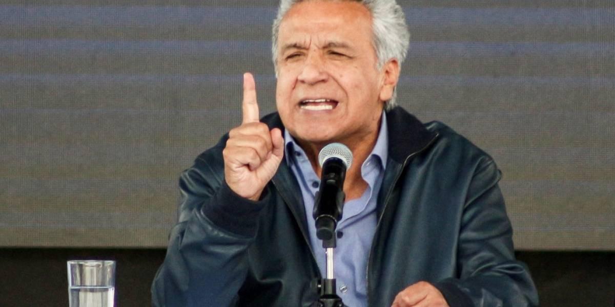 """Moreno decreta """"estado de excepción"""" ante protestas en Ecuador"""