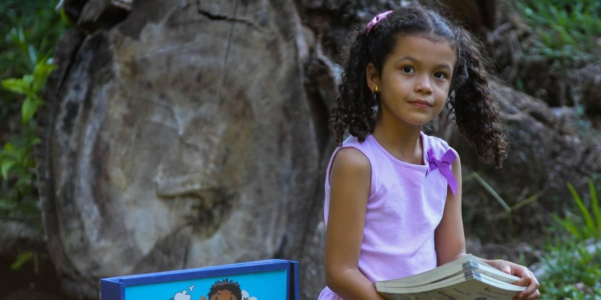 Manu, la niña de ocho años que lanzará un cuento en la Feria del Libro de Cali