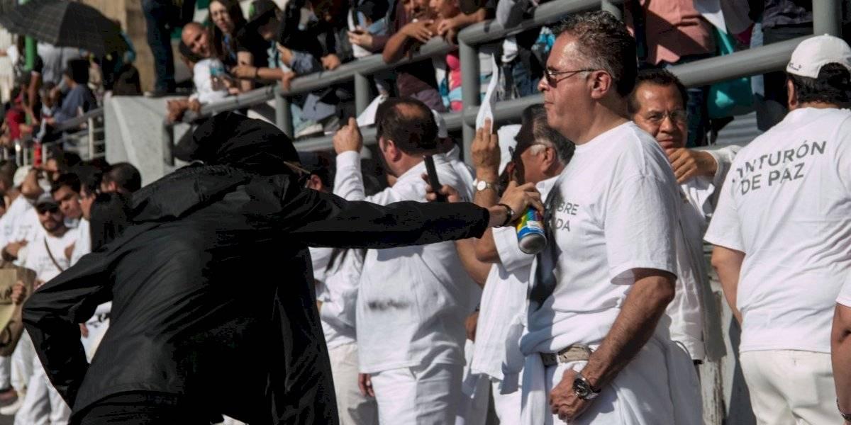 No se expuso a nadie con 'cinturón de paz': AMLO