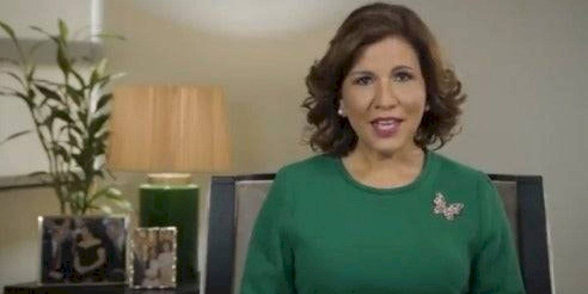 Margarita pide el voto para su esposo Leonel