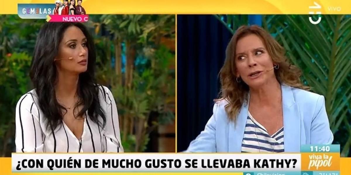 """Pamela Díaz revela con quien Kathy Salosny no se llevaba bien en el """"Mucho Gusto"""""""