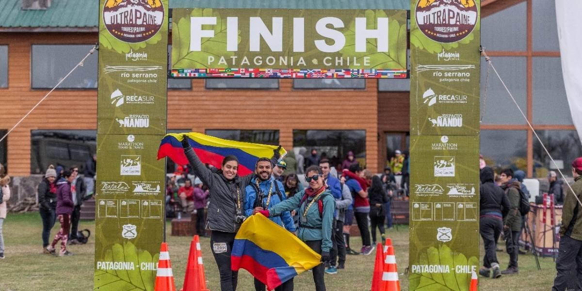 Un colombiano se llevó el triunfo en los 14K de la Ultra Paine 2019