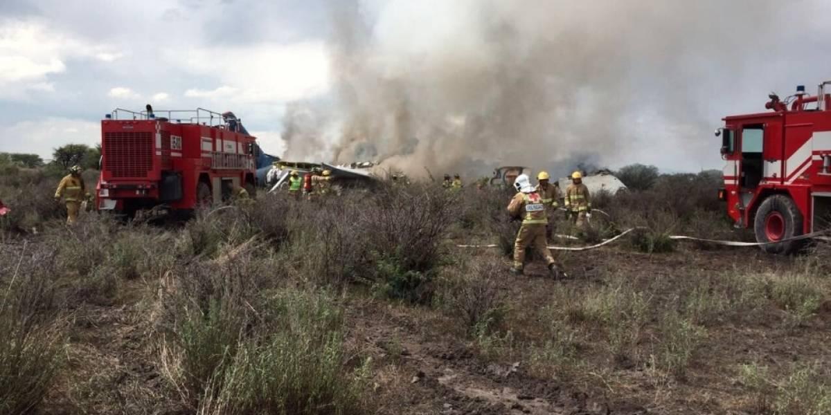 Cae helicóptero de la Sedena que erradicaba plantíos en Durango