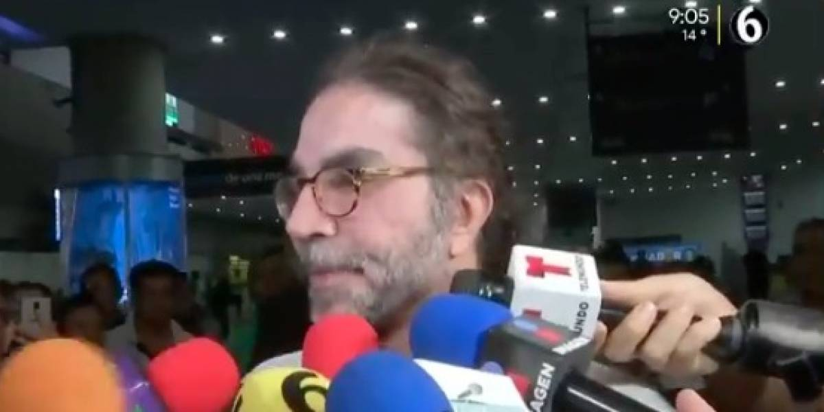 VIDEO: Casi irreconocible reapareció Jorge Kahwagi