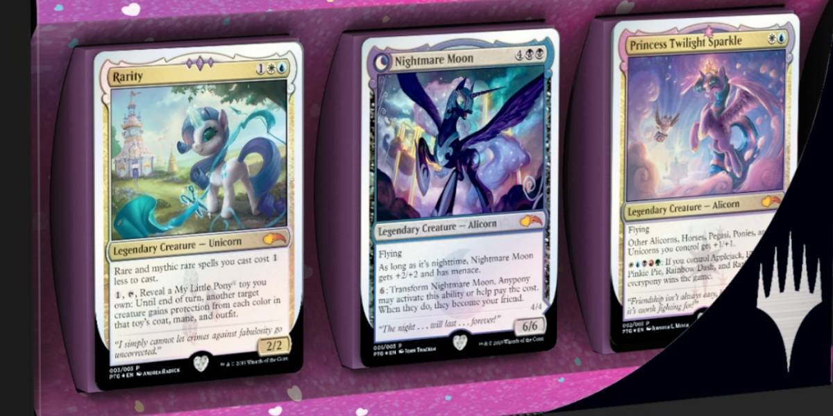 Magic The Gathering anuncia extraño crossover con My Little Pony