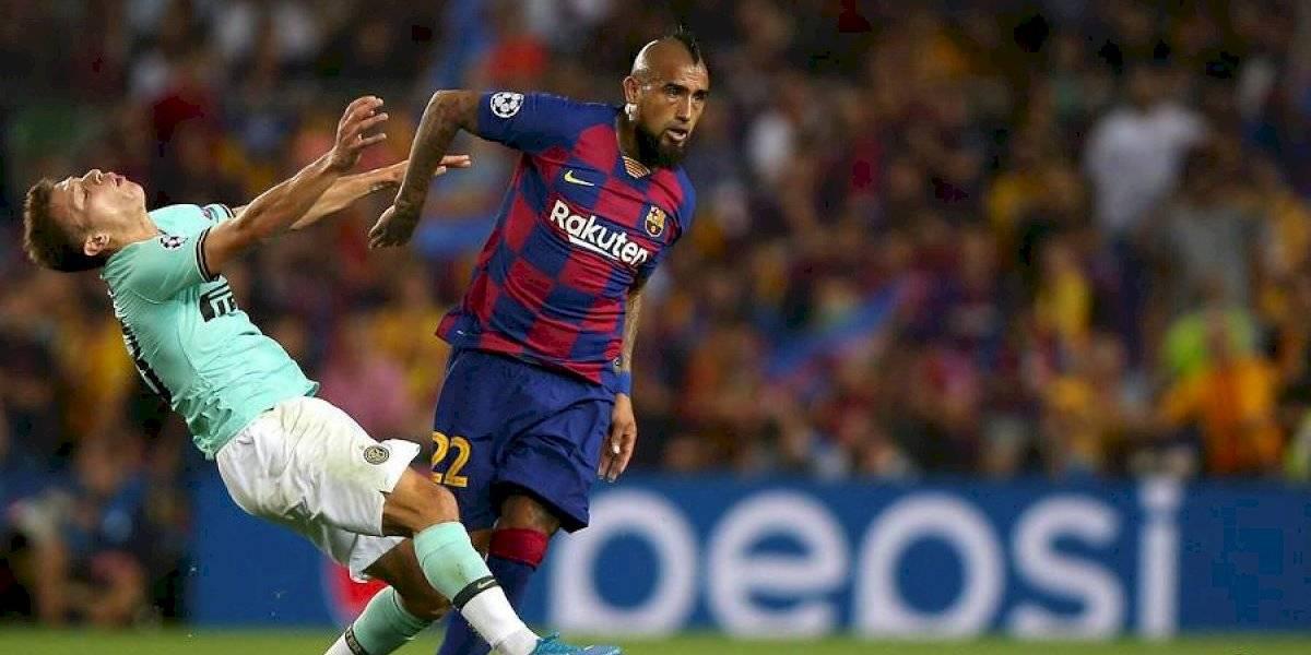 """""""Cambió el decorado del Barça"""": Arturo Vidal cambió las críticas por elogios en una semana en Barcelona"""