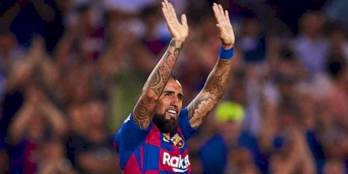 """Arthur Melo también se rinde ante Vidal en Barcelona: """"Su entrada nos dio exactamente lo que necesitábamos"""""""