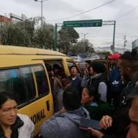 Paro de transporte: Dificultad para movilizarse en Quito debido a cierre de vías