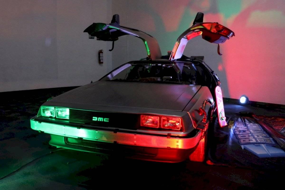 El auto fue una de las principales atracciones /Foto de Axel Amézquita