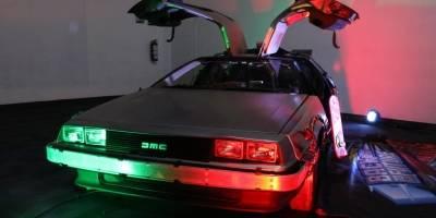 DeLorean en Expo Reforma