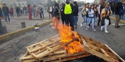 Protestas por el paro nacional