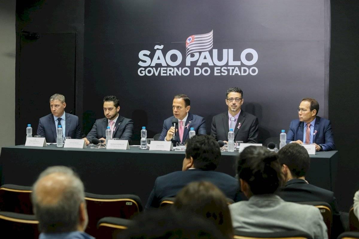 Evento de turismo com João Dória e Azul