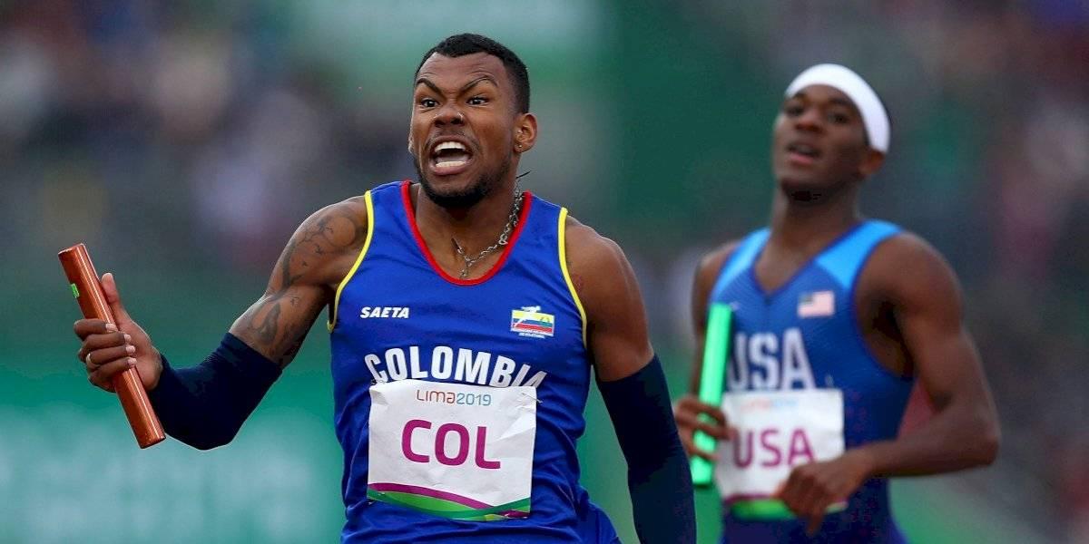 ¡Anthony Zambrano ganó plata en el Mundial de Atletismo en los 400 metros planos!