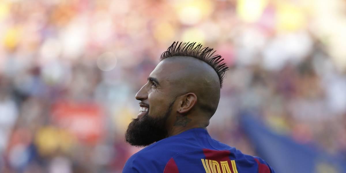 """Vidal es comparado con Henrik Larsson en Barcelona: """"Pocos jugadores con tan relativo protagonismo han tenido su carisma"""""""
