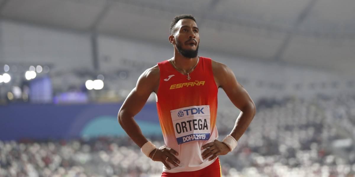 Mundial de Atletismo: El español Orlando Ortega recibió el bronce tras final polémico en los 110 metros con vallas